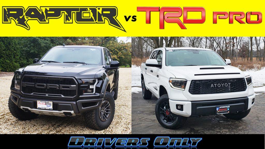 Raptor vs Tundra TRD Pro